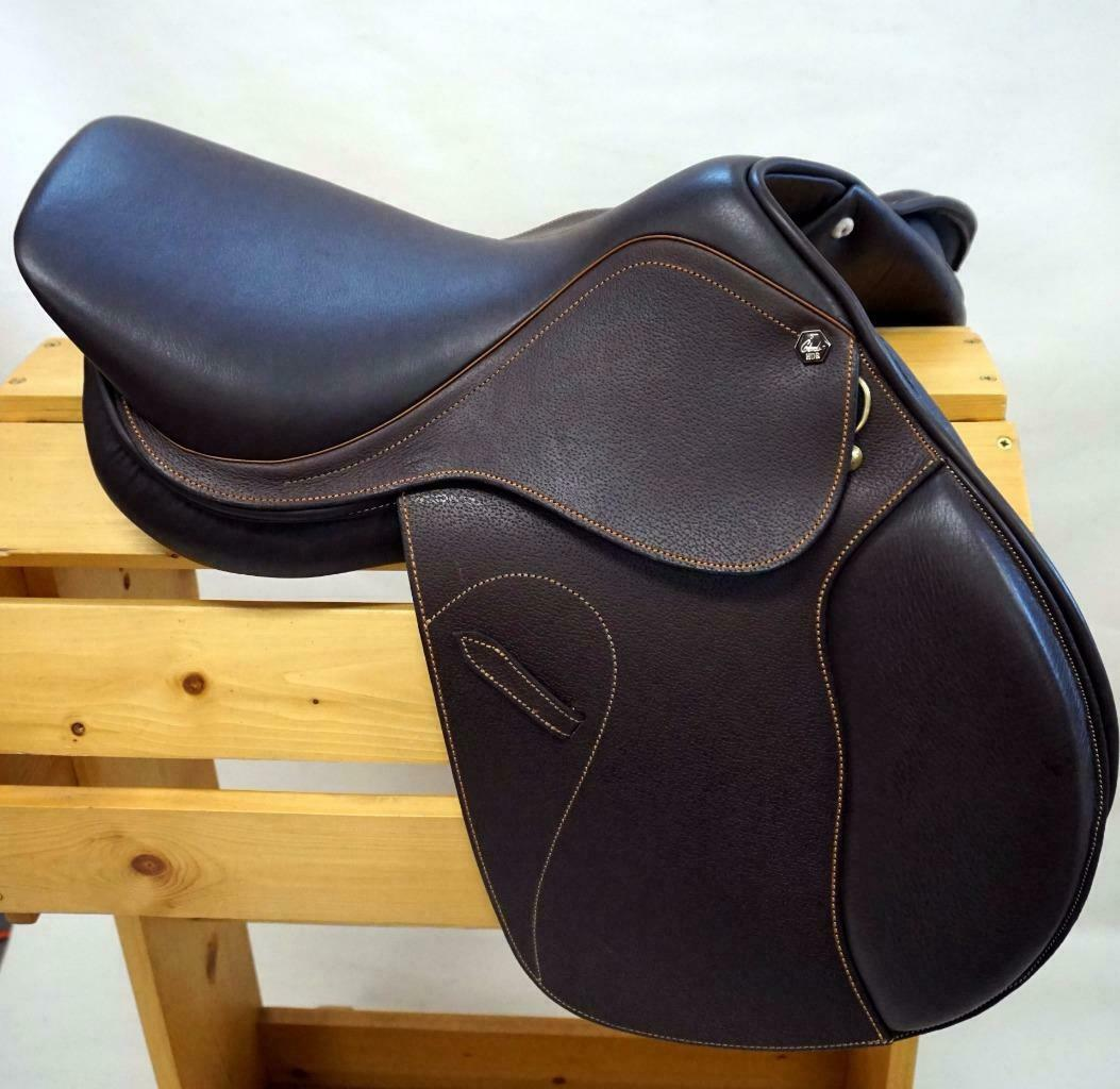 18.5  R Aus Nut Henri de Rivel HDR Memor-X Close Contact Saddle Memory Foam Seat