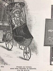MODE ILLUSTREE SEWING PATTERN Jan 29,1899 CORSET ROBE EN CACHEMIRE