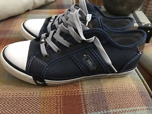 Mustang zapatillas para hombre para mujer Talla 40/7 Nuevo Azul