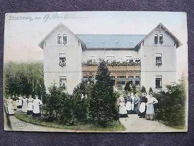 Zitzschewig - Frauen Genesungsheim 1906 coloriert  / 22
