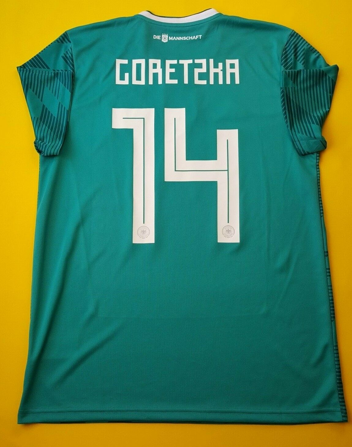99e8b2ebff7 5+ 5 Goretzka Germany jersey 2018 away shirt BR3144 soccer Adidas ig93  soccer nudkws3322-Soccer-National Teams