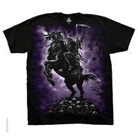 Death Rider Dark Fantasy Black Licensed T-shirt