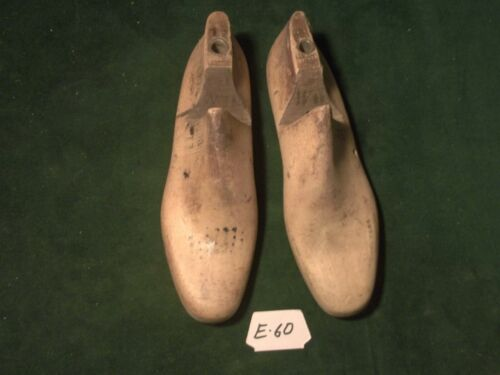 VINTAGE PAIR Size 11 M  #600 Krentliner Industrial Shoe Factory Last #E-60