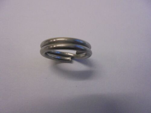 Stainless steel extra strong  split rings 7mm x 50