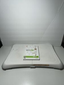 Nintendo Wii/Wii Fit Game and Balance Board  TESTED Exercise Fitness Nintendo