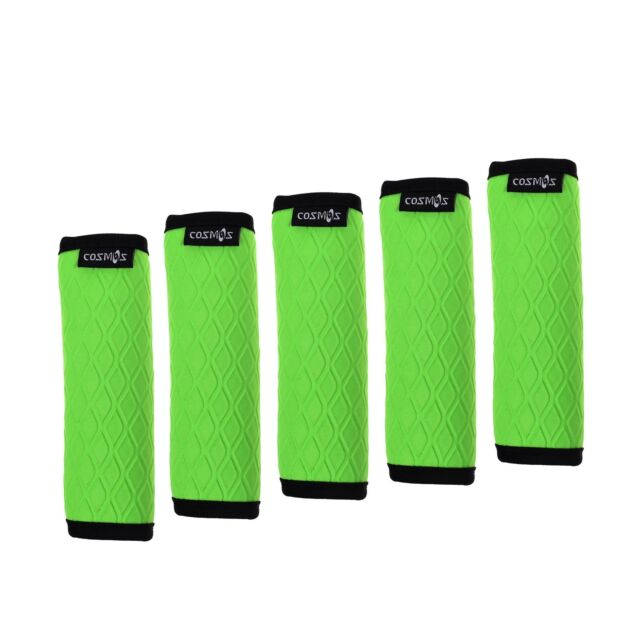 a53d2cc5f70e Cosmos 5 Pcs Soft Neoprene Anti-slip Luggage Handle Wraps Grips for Travel  Bag S