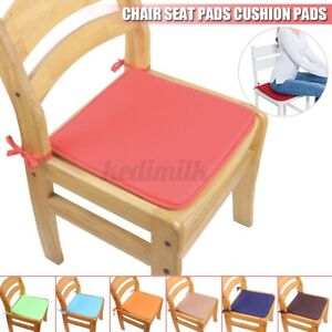 Waterproof Chair Seat Pads Outdoor Tie On Office Garden Patio Chair Cushions Pad | EBay