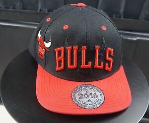 116e2d3dc3c92 Details about Rare Vintage ADIDAS Chicago Bulls Official NBA Draft Cap 2016  Snapback Hat NWT