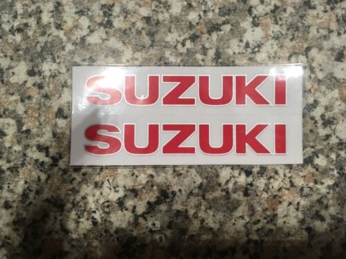 Aufkleber Sticker Motorradsport Suzuki Racing Tuning Motorsport Motorcross FX GT