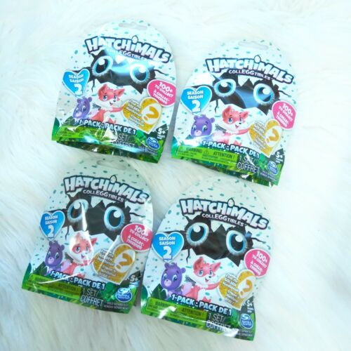 To Collect Ages 5+ 100 4 New Spin Master HATCHIMALS Colleggtibles Season 2