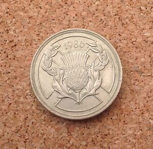 1986 commonwealth 2 pound coin
