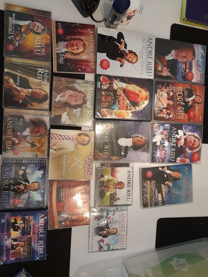Andre Rieu: Blandet cd og dvd, andet