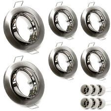 Acciaio Spazzolato e Vetro Satinato Philips Lighting Usagi Plafoniera Spirale Spot 5 Luci Bianco
