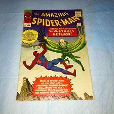 The Amazing Spider-Man #7 (1962) Vol1 VULTURE- Nice Clean Stan Lee & Ditko