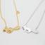 Lindo Collar De Plata//Oro Fox para mujeres dibujos animados Animales Colgante simple