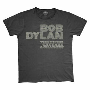 Bob-Dylan-The-Times-They-are-a-Changing-T-Shirt-NEW-Official-Vintage-Style