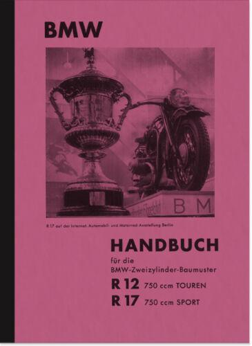 BMW R 12 17 manuale istruzioni manuale r12 r17 User Manual