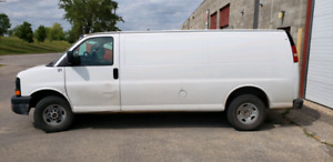 Safied 2008 GMC savanna 2500 extended