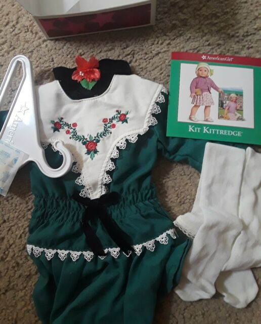 NEW American Girl Ruthies Holiday Dress - Retired!