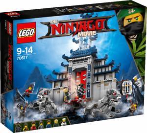 LEGO NINJAGO MOVIE TEMPLO DEL ARMA TOTALMENTE DEFINITIVA 70617 - NUEVO SIN ABRIR