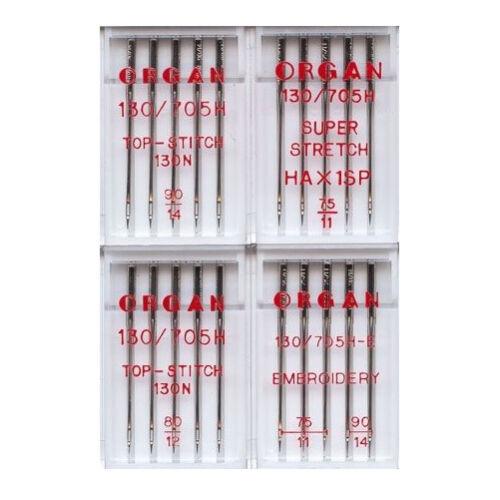 Sticknadelsortiment Organ Nadelset Nadeln im Set   #7685 Nadelangebot