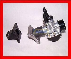 Set-Carburateur-21-Collet-mhr-Malossi-AM6-et-Derbi-Mix-avec-Vacuumpumpe