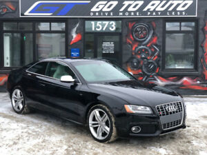 2012 Audi S5 4.2L Premium Quattro Coupe - Nav, camera, leather