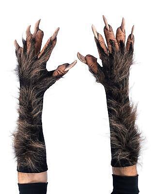 Realistic Wolf Werewolf Brown Gloves Costume Accessory Zagone Studios