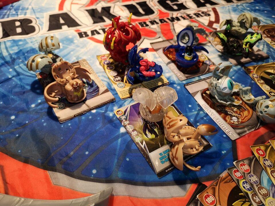 16 figurer og battle Arena, Bakugan