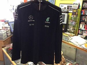 MERCEDES-2017-AMG-PETRONAS-FORMULA-ONE-REPLICA-LONG-SLEEVE-T-SHIRT-SIZE-XLARGE