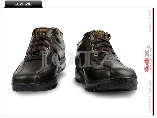 KT96-C, en cuir Décontracté 2.8  hauteur Ascenseur chaussures, Décontracté Marche Chaussures
