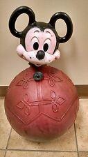 Hoppity Mickey Mouse Walt Disney Productions 1970's, Bounce Toy Hippity Hop