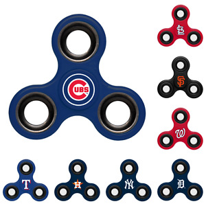 MLB Team Logo 3 Three Way Diztracto Fidget Hand Spinners Pick Team IN STOCK
