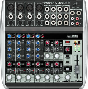 Behringer-Xenyx-Q1202USB-Live-Studio-Audio-Interface-Q-1202-USB-Mixer-IN-BOX