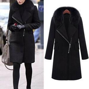 Women-Slim-Winter-Warm-Wool-Lapel-Long-Coat-Trench-Parka-Jacket-Overcoat-Outwea
