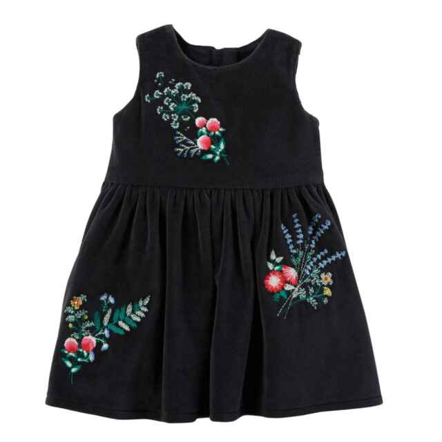 0215a6b8b4c1 Buy Carter s Baby Girl Dress 6 Months 2 Piece Oufit Black With Tags ...