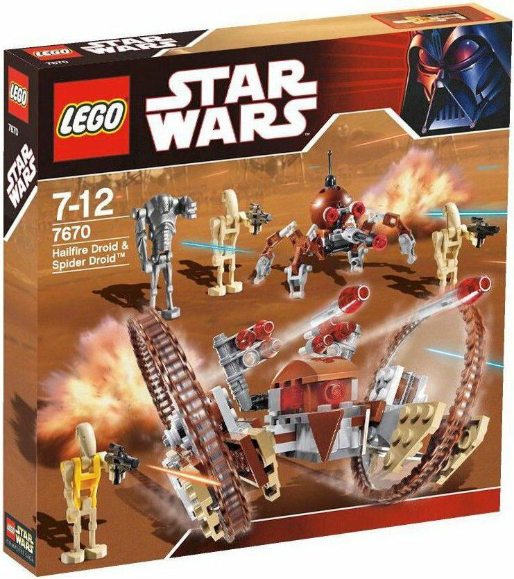 LEGO STAR WARS HAILFIRE DROID DROID DROID & SPIDER DROID 7670  - NUEVO PRECINTADO SIN ABRIR 0e3aa9