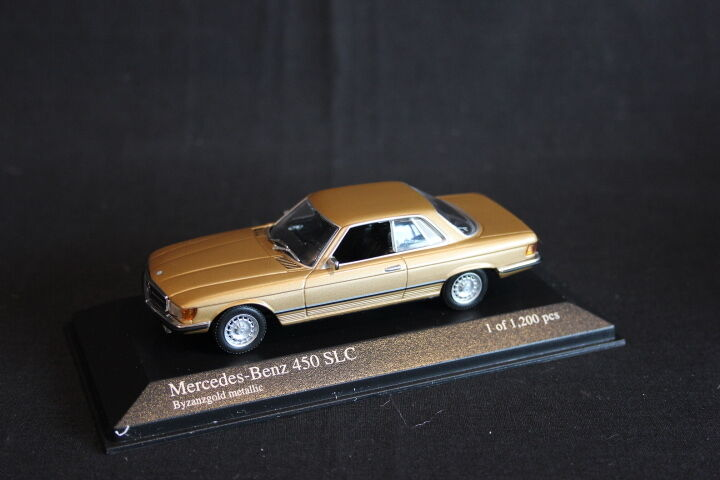 Minichamps Mercedes-Benz 450 SLC 1974 1:43 Gold Metallic (JS)