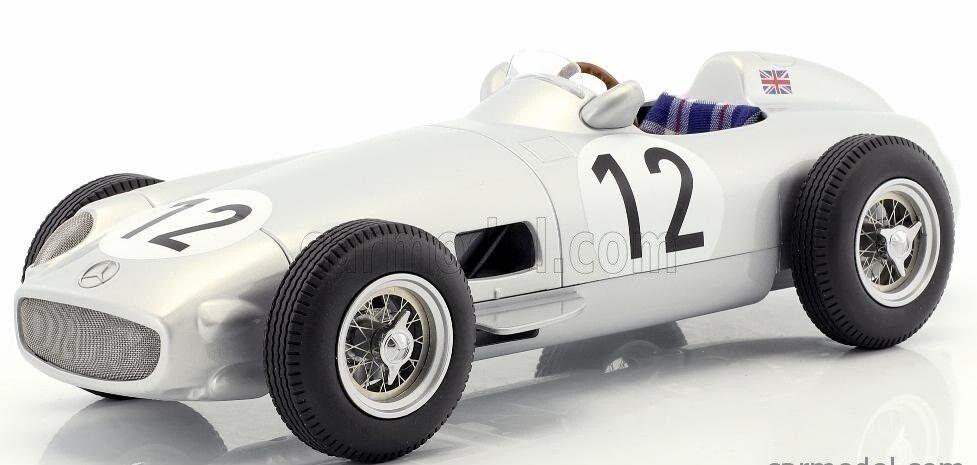 Centro comercial profesional integrado en línea. 1 18 I Escala Mercedes Benz W196 W196 W196   .12 F1 ganador British Grand Prix 1955 S. Moss  ¡no ser extrañado!