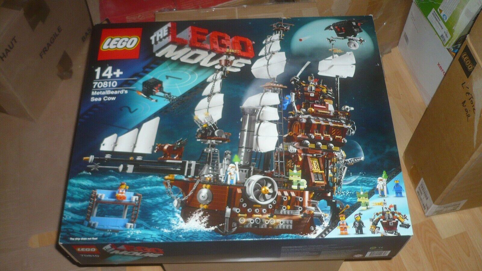 LEGO 70810   The Lego Movie  MetalBeard's Sea Cow NEW NEUF