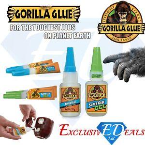 Gorilla-Super-Glue-Full-Range-3g-2-x-3g-15g-15g-Gel-12g-Brush-amp-Nozzle