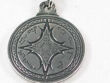 Talisman for Mastery of the Magical Arts Pewter Pendant,