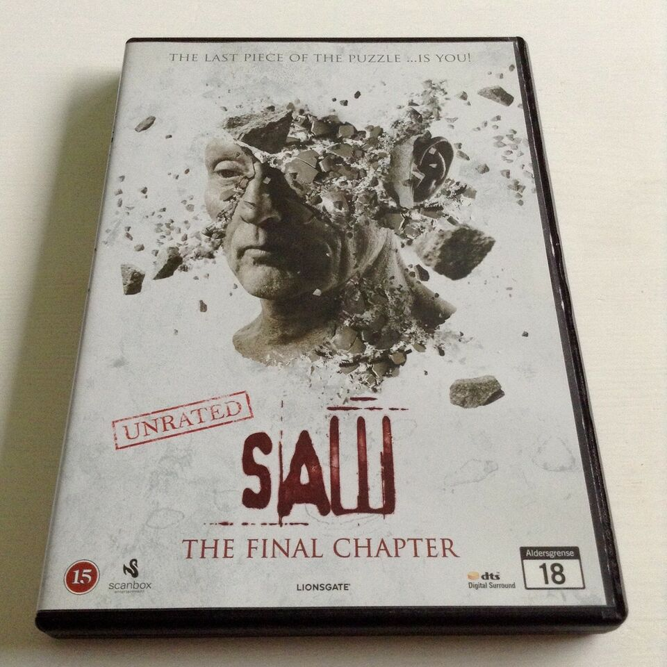 Saw The Final Chapter, DVD, thriller