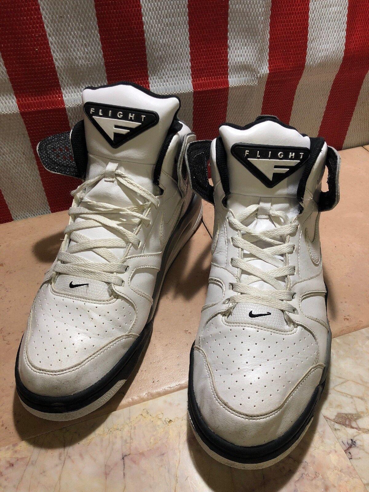 NIKE Air Flight Falcon 397204-102 Basketball Shoes LEATHER MENS SZ 14 US