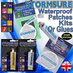 Stormsure Waterproof Flexible Outdoor Repair Kit Adhesive