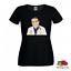 T-shirt-UOMO-DONNA-DOTT-NOWZARADAN-PERSONALIZZATA-TV-BIANCO-NERA-MEZZE-MANICHE miniatura 2