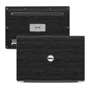 Black-Woodgrain-Decal-Sticker-Skin-for-Dell-XPS-13-9343-Laptop