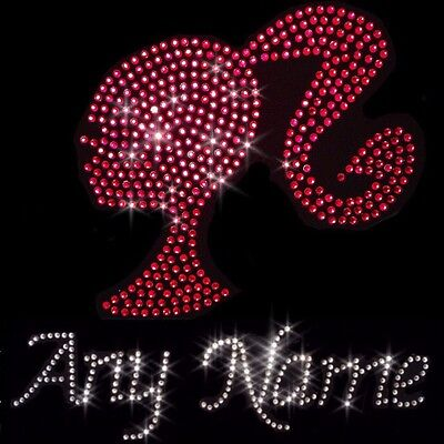 Personalised Iron On Crystal Transfer Set Number 2 Crown /& Wand Birthday Girl