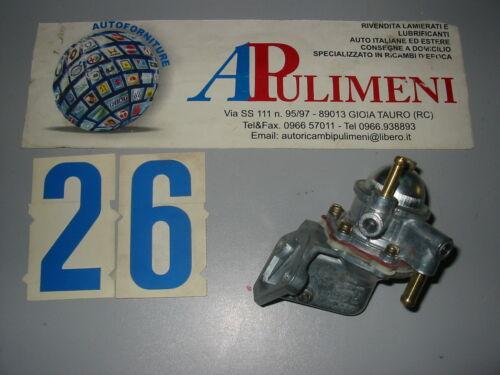 FUEL PUMP 2137 POMPA CARBURANTE FIAT 128 UNO RITMO LANCIA DELTA
