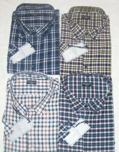 Hombre Tallas Grandes Fitzgerald Mark S Camisas Manga 2xl 3xl 4xl 5xl 6xl Ebay